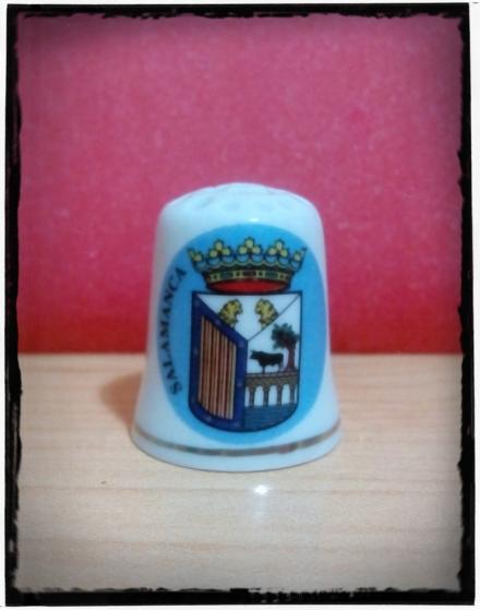 Dedal escudo Salamanca.