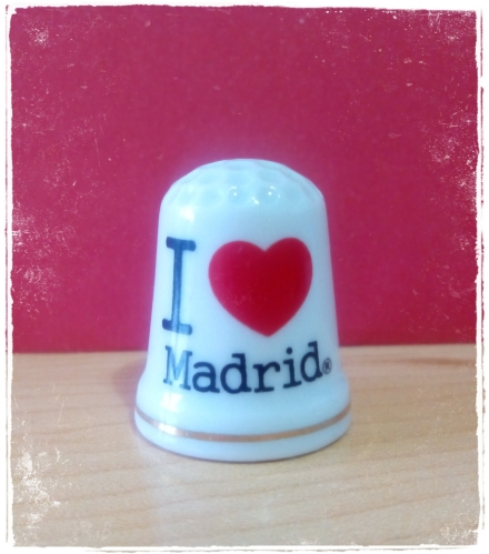"Dedal ""I Love"" Madrid."