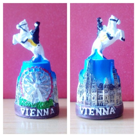 Dedal resina Viena. Austria.